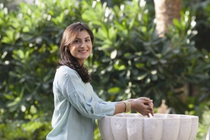 Dr Lamees Hamdan, founder of luxury beauty brand Shiffa